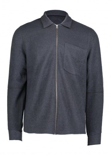 Raw Edge Jacket - Graphite