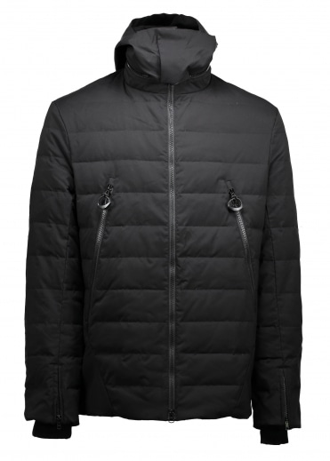 Down Jacket - Matte Black