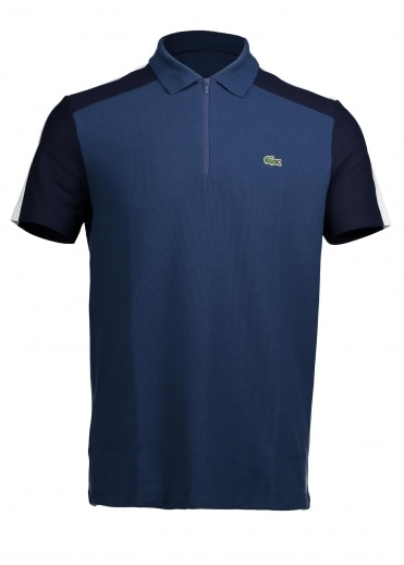 Zip Polo - Philippines Blue