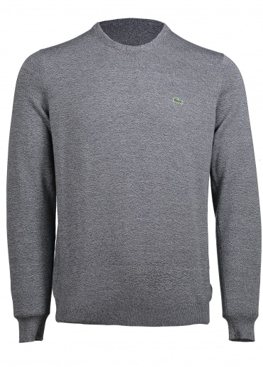 V-Neck Contrast Sweater - Mouline Navy