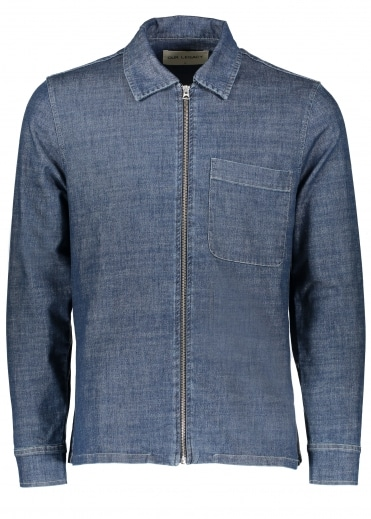 Drip Shirt - Blue Denim
