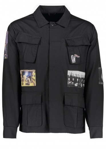 Military Overshirt - Black