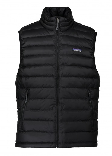 Down Sweater Vest - Black
