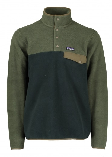 LW Synch Snap-T Pullover - Industrial Green
