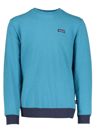 P-6 Label MW Sweatshirt - Filter Blue