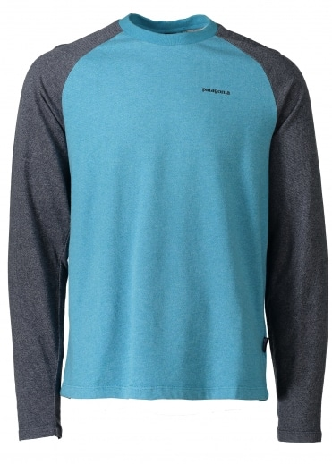 P-6 Logo LW Crew Sweat - Filter Blue