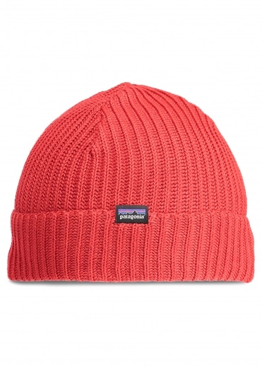 Fishermans Rolled Beanie - Fire