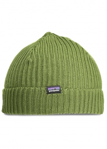 Fishermans Rolled Beanie - Glade Green