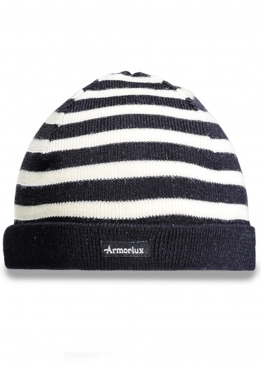 Striped Hat - Navy / Nature