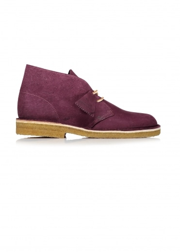 Desert Boot Nubuck - Grape