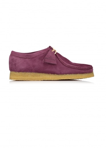 Wallabee Nubuck - Grape