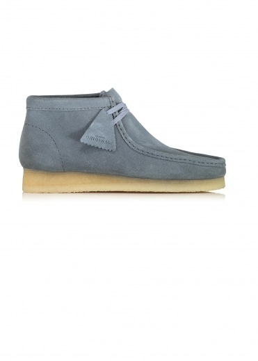 Wallabee Boot Suede - Slate Blue