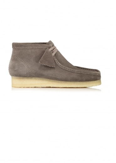 Wallabee Boot Suede - Grey