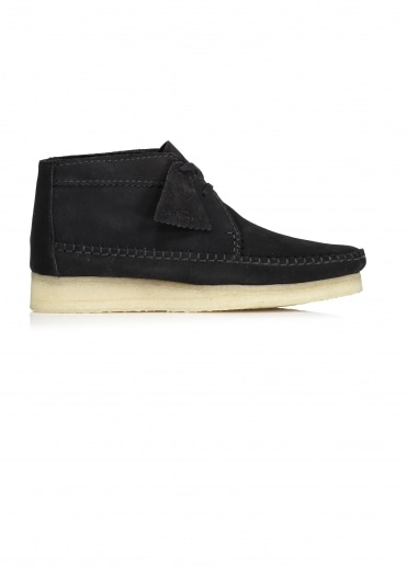 Weaver Boot Suede - Black