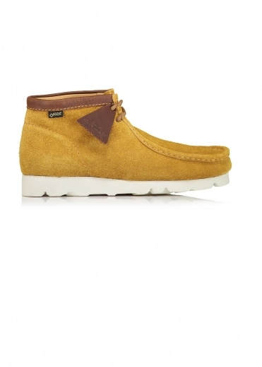 Wallabee Boot GTX Suede - Dark Ochre
