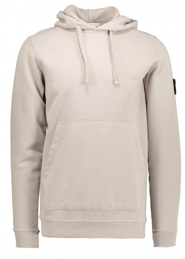 Stone Island Hooded Sweatshirt - Dove Grey