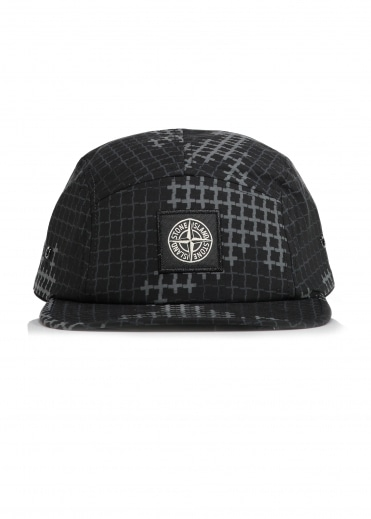 Stone Island Graphic Cap - Black