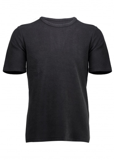 Folk Mid Weight Tee - Charcoal