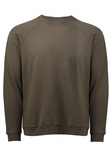Folk Rivet Sweat- Military Green
