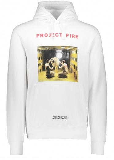 Project Fire Popover Hood - White