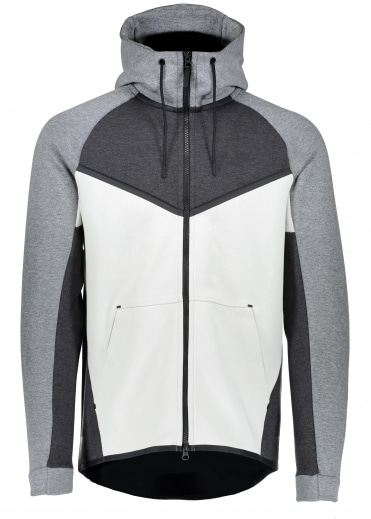 Tech Fleece Windrunner - Black / Light Bone