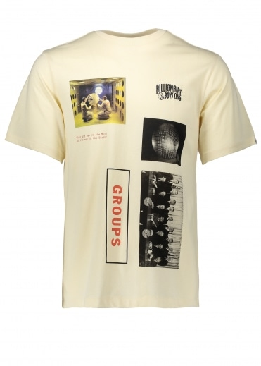 Group Photo Print T-Shirt - Off White