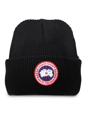 Arctic Disc Toque Hat - Black