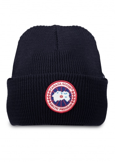Arctic Disc Toque Hat - Navy
