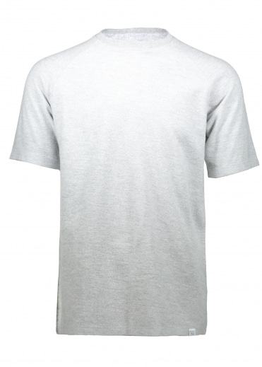 Victor Brushed Tee - Light Grey