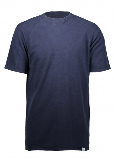 Victor Brushed Tee - Navy