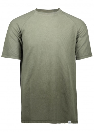 Victor Brushed Tee - Lichen