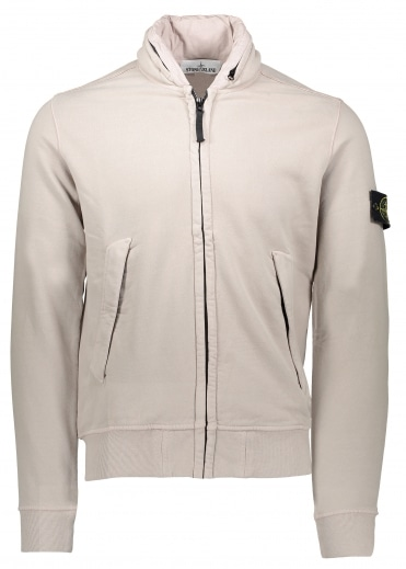 Zip Jacket - Dove Grey