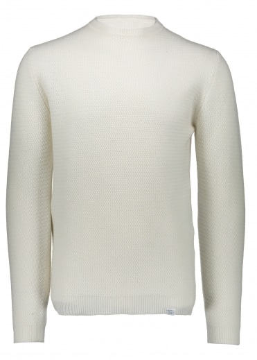 Sigfred Lambswool - Racked White