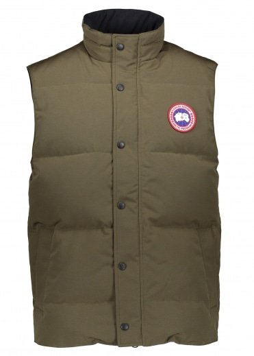 Garson Vest - Military Green