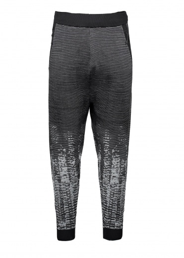 ZNE Pulse Knit Pant - Black / White