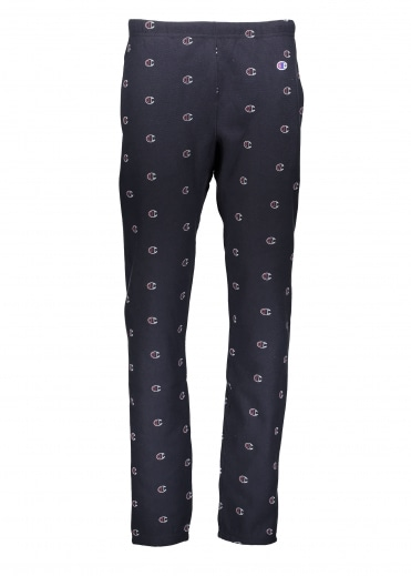 All Over Logo Sweat Pant - Navy