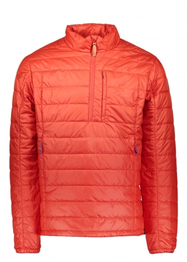 Abisko Padded Pullover - Flame Orange