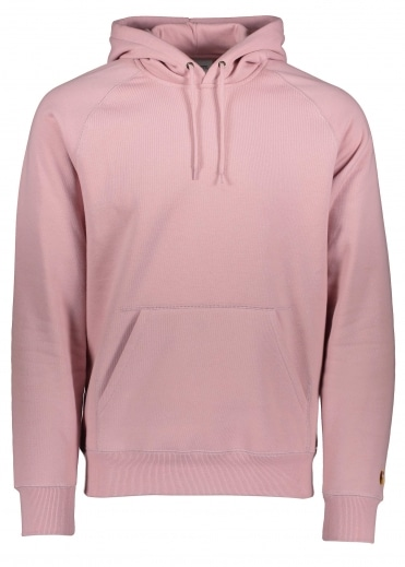 Hooded Chase Sweat - Soft Rose / Gold