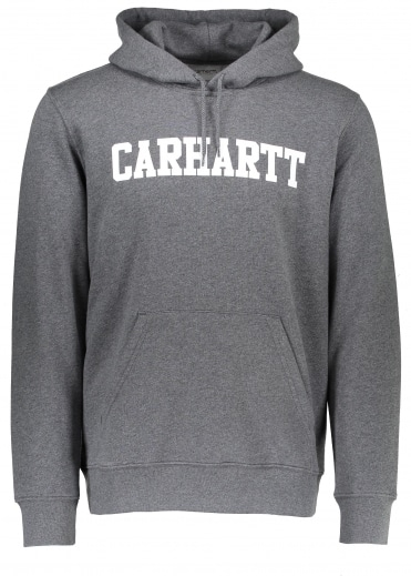 Hooded College Sweat - Dark Grey
