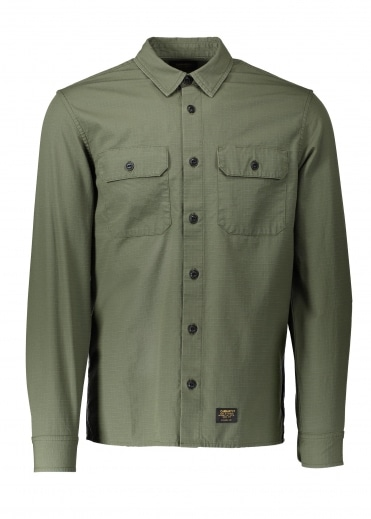 LS Mission Shirt - Rover Green