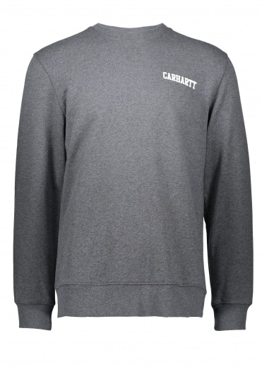 College Script Sweat - Dark Grey