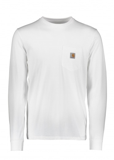 LS Pocket T-Shirt - White