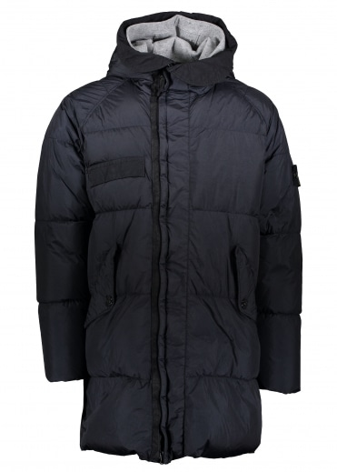 Down Parka - Navy Blue