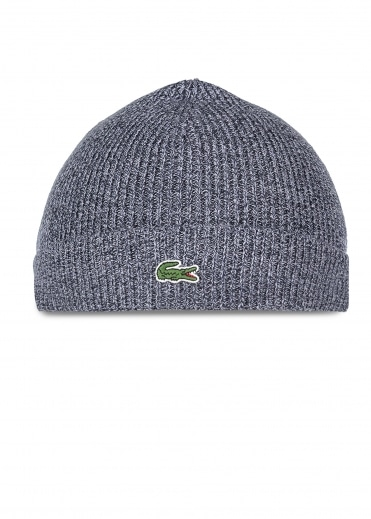 Beanie Hat Mouline - Navy Blue