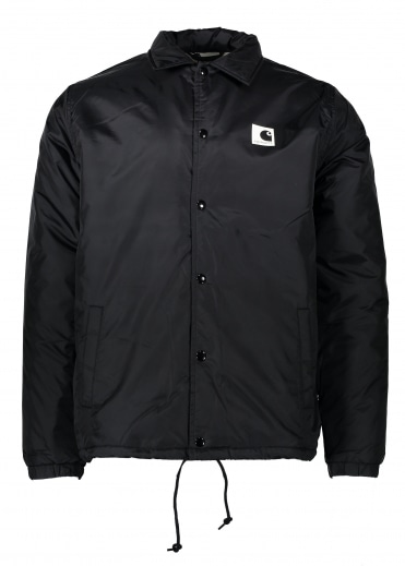Sports Pile Coach Jacket - Black