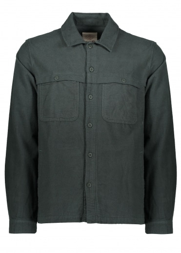 Yoke Overshirt - Alpine Green
