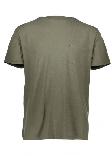 Hemp Pocket Tee - Seafoam