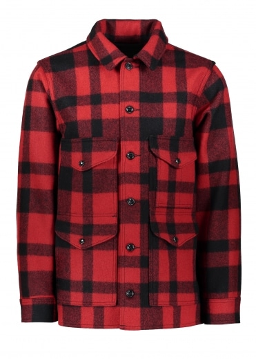 Mackinaw Cruiser - Red / Black