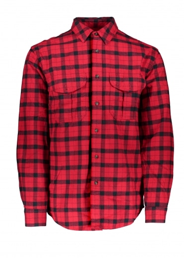 Alaskan Guide Shirt - Red / Black