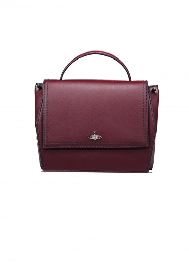 Cambridge Handbag - Bordeaux